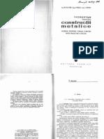 Indreptar Pentru Constructii Metalice - E. Fluture - An 1964