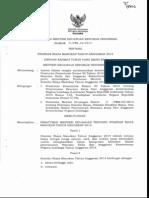 Standar Biaya Umum 2014