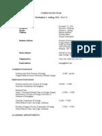 ChrisAmlingMD CV - Update 7-09