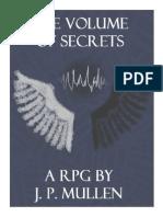The Volume of Secrets RPG