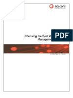 Choosing the Best Web CMS