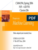 MachineLearning Introduction
