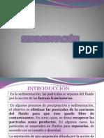 Grupo 1 Sedimentacion