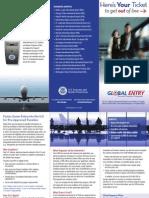 Global Entry Pamphlet