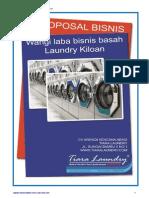Proposal Penawaran Kerjasama Tiara Laundry 2012