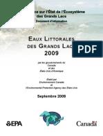 Eaux Littorales des Grands Lacs 2009