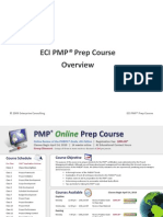 ECI PMP Class 1 - Overview