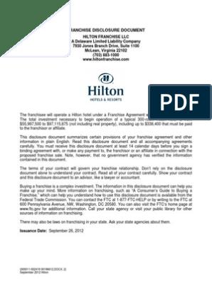 Hilton Us Fdd   Hilton Worldwide   Franchising