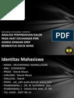 Analisis Perpindahan Kalor Pad 5250403034