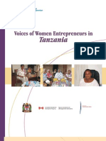 Voices of Women Entrepreneurs in Tanzania