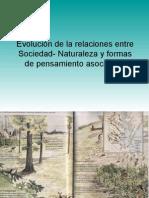 Evolución de la relaciones entre Sociedad- Naturaleza