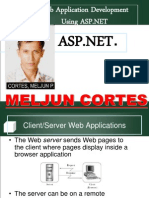 MELJUN CORTES ASP Lecture Seminar WebAppDevtUsingASPNET