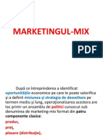 Marketingul Mix