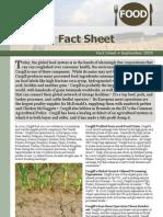 Cargill Fact Sheet (Europe)