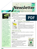 Arts College Assembly Newsletter, Volume 2