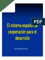 2sistema español  de cooperacion al desarrollo