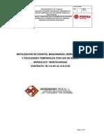 Procedimiento Trabajo Seguro PDVSA_Movilización de Obras Temporales