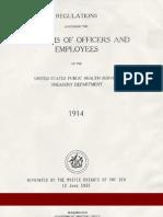 (1914 & 1937) U.S. Public Health Service Uniform Regulations