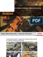 Robot Simulation With Robcad
