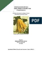 Economic Plants of South Asia