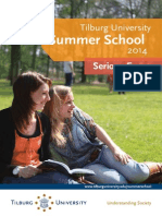 Tilburg University Summer School Flyer