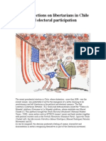 Some Reflections on Libertarians in Chile and Electoral Participation