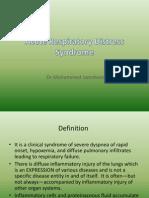Non Cardiogenic Pulmonary Oedema