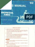 Honda MB5 Owners Manual[1]