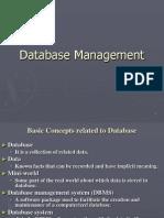 Database Mgmt