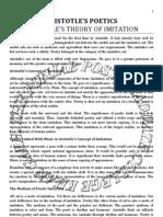Aristotle's Poetics-A critical Study