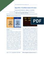 El Investigador Latinoamericano Nº 2, septiembre 2009