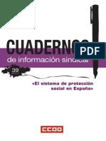 El sistema de protección social en España