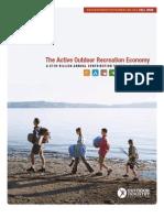 The Active Outdoor Recreation Economy