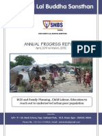 Snbs Ngo Report 2011-2012