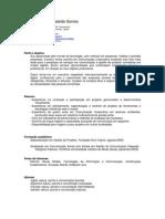 CV Ricardo Alves Moraleida Gomes - Atual
