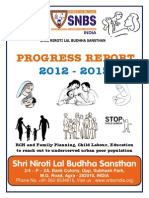 Snbs Ngo Report 2012-2013