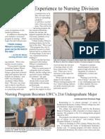 2009 Fall Cornerstone Proof -- News Nursing Page 2