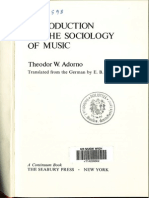 Adorno_Introduction to the Sociology of Music_merged