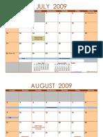 Annex 1 (Schedule of Events)