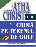 Agatha Christie Crima Pe Terenul de Golf
