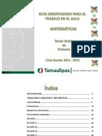 GuíaCompleta PARA TRABAJAR HABILIDADES MATEMATICAS 3er_Primaria
