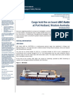 Bericht BBC Baltic Port Hedland 2012