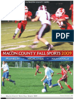 Macon County Fall Sports 2009 | Franklin - Highlands - Nantahala