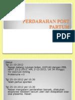 Perdarahan Post Partum