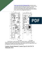 Sketsa Denah Rumah 2 Lantai Type 21 36 45 54 70 Minimalis 2014 Jadi Pilihan Sendiri Untuk Mereka Yang Dengan Cara Spesial Suka Pada Design Rumah Minimali2