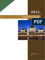 Politológia tételsor