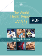 WHO_the World Health 2003