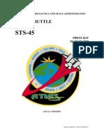 NASA Space Shuttle STS-45 Press Kit