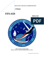 NASA Space Shuttle STS-41D Press Kit
