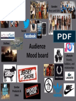audience mood board